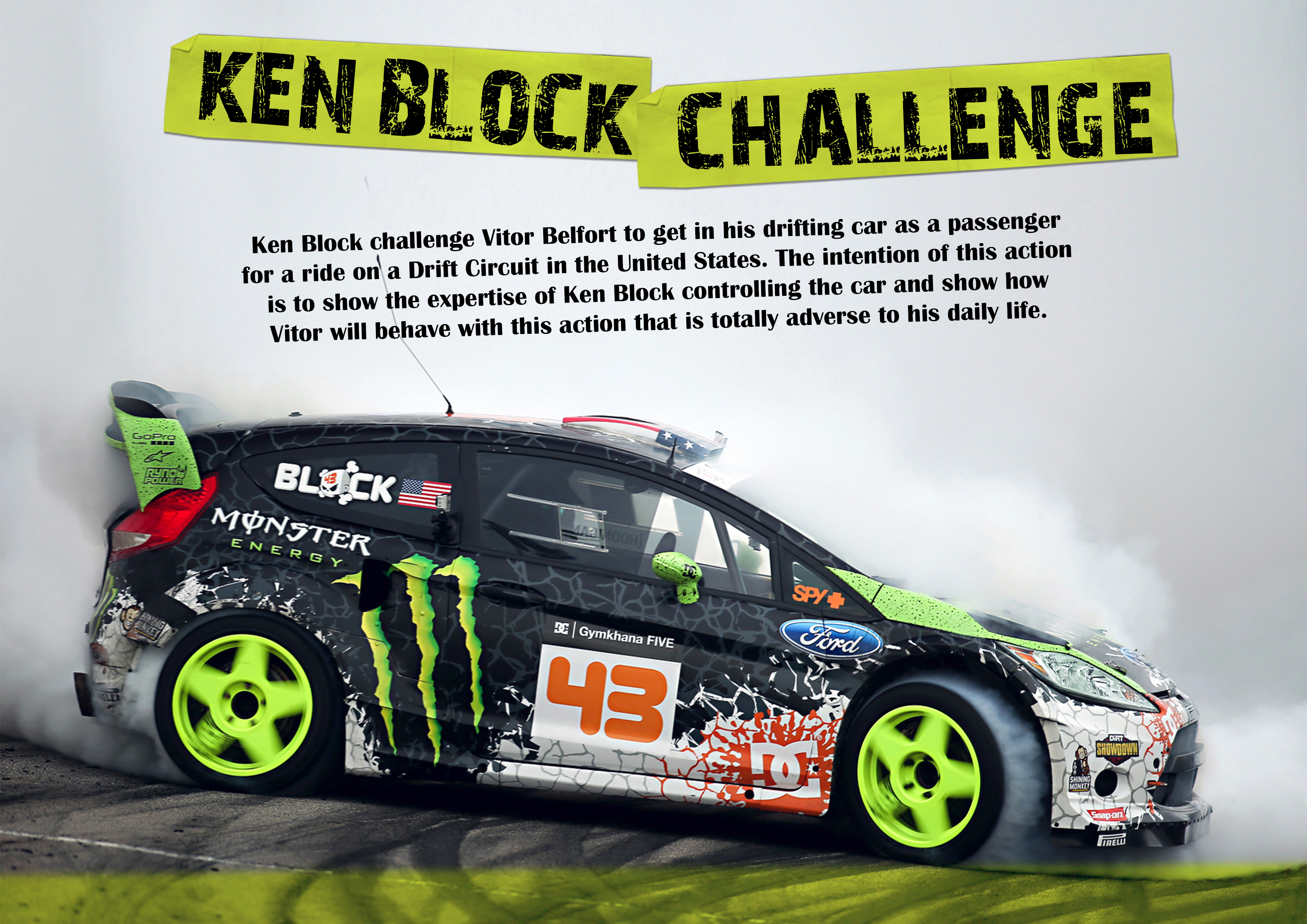 Monster Energy the challenge Project